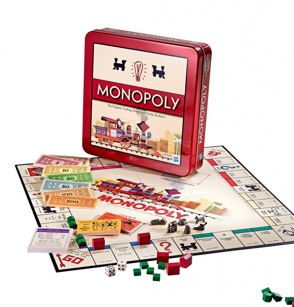 Monopoly Nostalgie Brettspiel Hasbro - 2