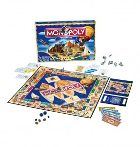 Monopoly Weltreise Brettspiel Hasbro