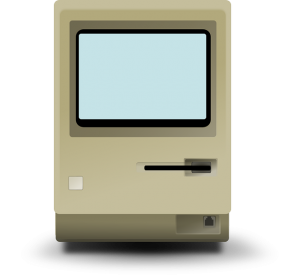 Wieviel Computer braucht der Mensch - 4 - alter Macintosh