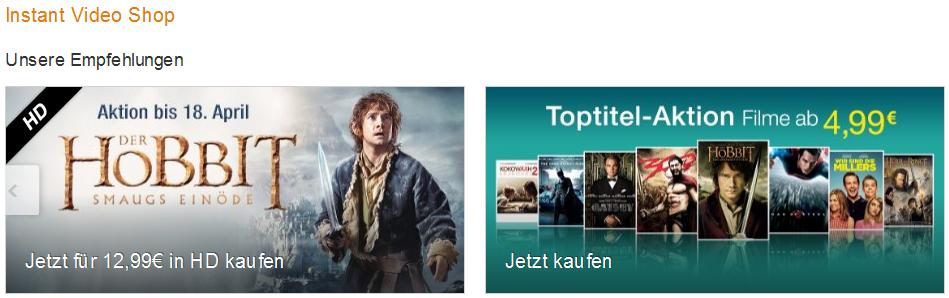 Amazon Instant Video Shop