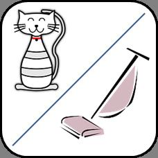 Staubsauger gegen Katzenhaare - 1