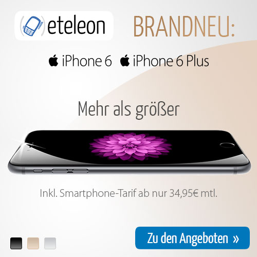 Apple iPhone 6 35 euro monatlich