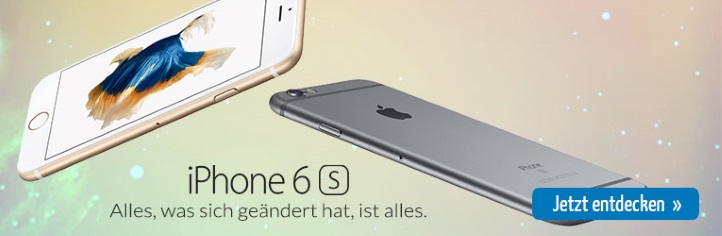 iPhone 6s ohne Zuzahlung